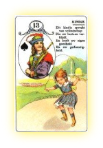 13lenormand-kindje-kaart